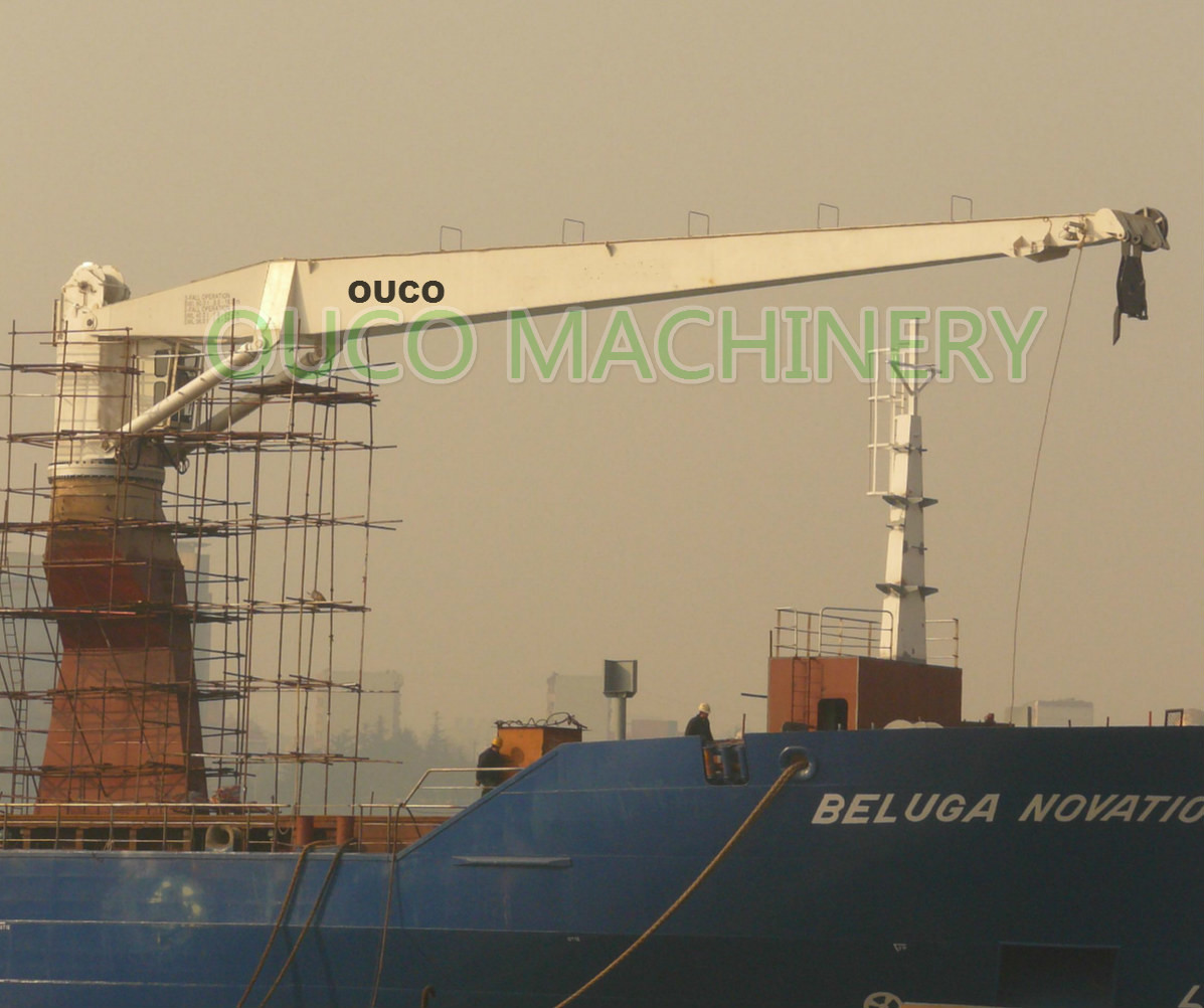 10 Tons Industry Stiff Boom Crane , Fixed Jib Crane As Light Dead Weight