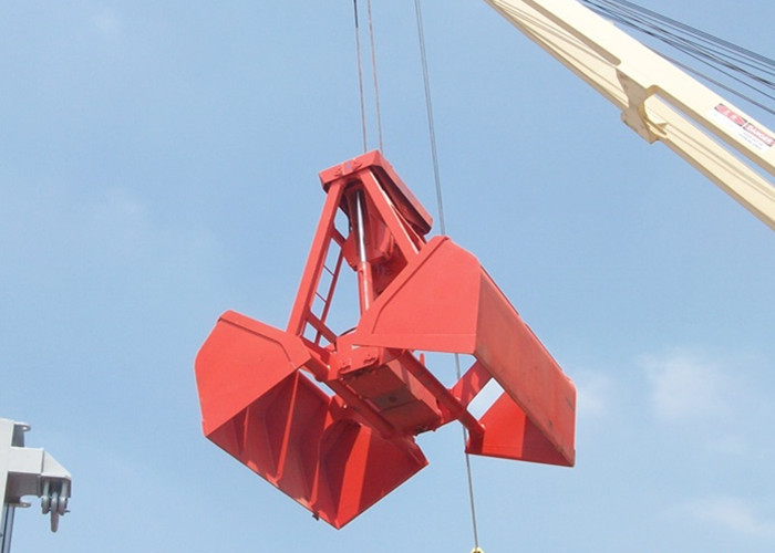 Wireless Remote Control Grab Bucket For Material Unloading At Port Unloading